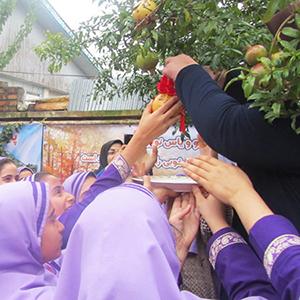 خمام - برگزاری جشن انار در دبستان یاس نو