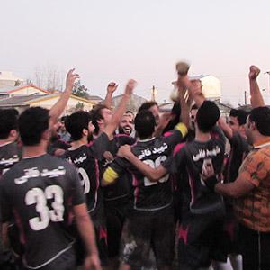 خمام - تیم «شهید فانی»، قهرمان مسابقات فوتبال جام محلات بخش خمام