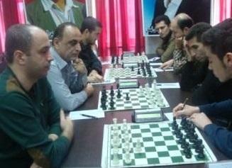 خمام - پنجمین برد تیم شطرنج شهرداری خمام در لیگ برتر گیلان