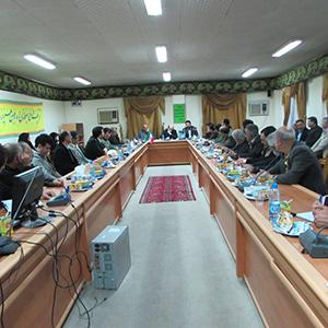 خمام - جلسه پیشگیری از بلایای طبیعی ناشی از پدیدههای جوی برگزار شد