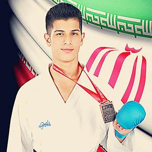 خمام - آرمین نوروزی به لیگ کاراته آیندهسازان کشور پیوست