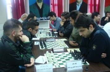 صدرنشینی خمام در هفته نهم لیگ یک و دو شطرنج گیلان