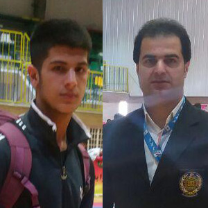 قضاوت علیرضا نوروزی در مسابقات لیگ کاراته کشور / 4 پیروزی توسط آرمین نوروزی