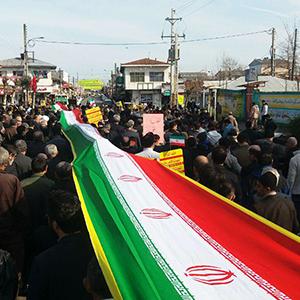 حضور پرشور مردم خمام در راهپیمایی 22 بهمن