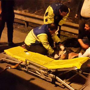 خمام - 1 کشته و 2 مصدوم در برخورد خودروی پرشیا با گاردریل