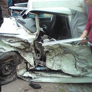 خمام - 2 مجروح در تصادف خودروی پژو 206 با پیکان وانت