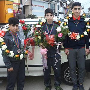 خمام - درخشش کاراتهکاهای خمامی در مسابقات چندجانبه باکو