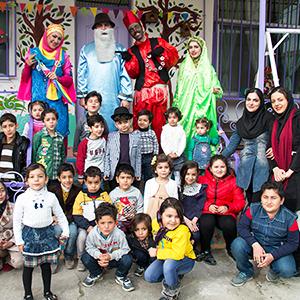 خمام - برگزاری جشن نوروز در مهدکودک توتفرنگی