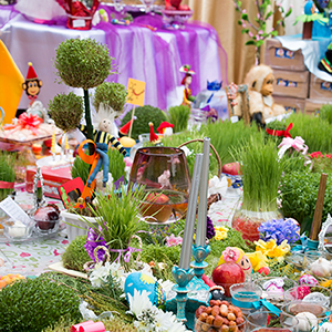 جشن «سفرهی هفتسین» در مدارس بخش خمام برگزار شد