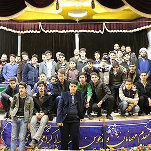 همایش سالانه پایگاه شهید شیرودی خمام برگزار شد