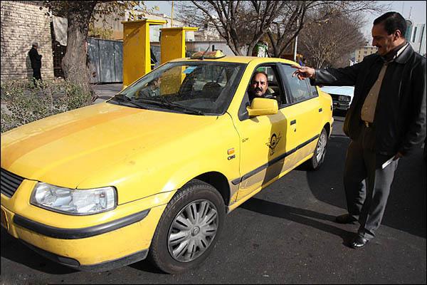 نرخ کرایه تاکسی گران شد / شریعتی به خمام 2500 و ولیعصر به خمام 2200 تومان