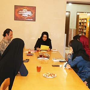 خمام - اولین نشست کانون ادبی ایاز برگزار شد