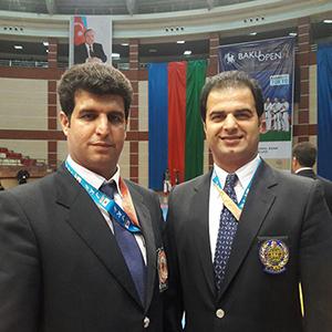 خمام - حضور 2 داور خمامی در تورنمنت آزاد باکو