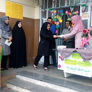 از معلمان دبستان پسرانهی شهید عابدیراد تجلیل شد