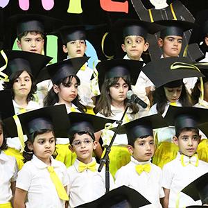 خمام - جشن پایان تحصیلی دبستان «یاس نو» برگزار شد