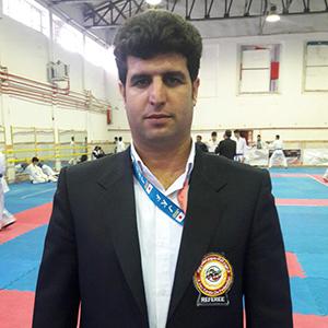 خمام - حضور مرتضی نوروزی در کلاس داوری فدراسیون کاراته کشور