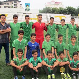 خمام - پیروزی ۳ بر ۰ تیم فوتبال اوژن چوکام در مقابل شاهین رشت