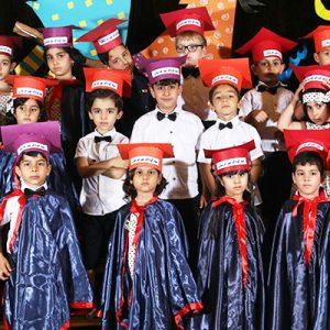 خمام - جشن پایان تحصیلی مهدکودک «مهر عرشیان» برگزار شد
