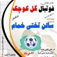 مسابقات فوتسال جام رمضان در سالن تختی برگزار میگردد