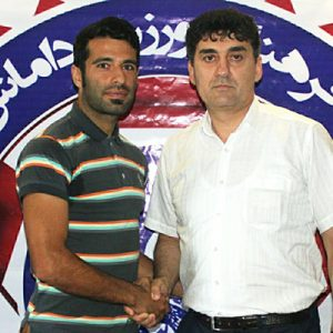 خمام - هادی سهرابی قرارداد خود را با داماش گیلان تمدید کرد