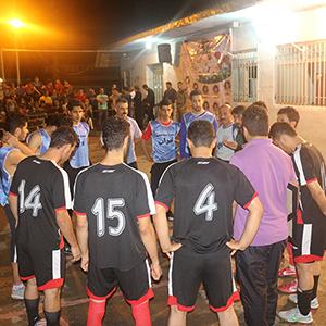 خمام - قهرمانی تیم قناعتیپور در مسابقات فوتبال گل کوچک روستای للـهکا