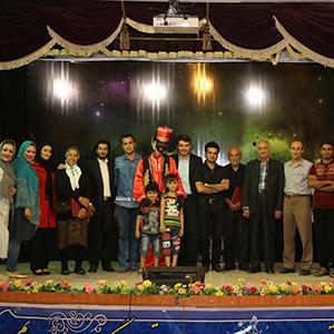 خمام - ویژه برنامهی «شبهای میهمانی خدا» برای اولینبار در استان گیلان در خمام برگزار شد