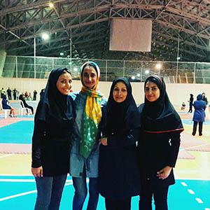 خمام - قهرمانی سارگل حقپرست در رقابتهای تکواندو نوجوانان استان گیلان