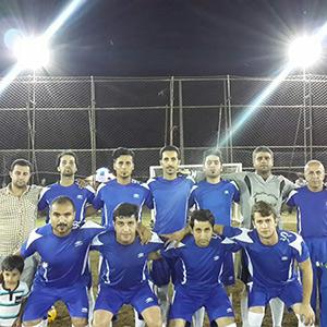 خمام - کسب مقام سوم تیم خمام در مسابقات فوتبال چمنی محلات منطقه آزاد انزلی