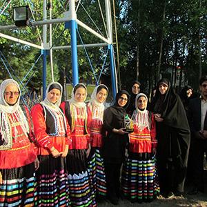 خمام - قهرمانی تیم بانوان شهرستان رشت در جشنوارهی دختران روستایی گیلان