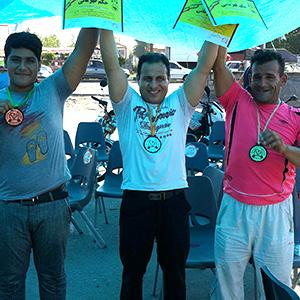 خمام - ۱ مدال طلا و ۲ مدال نقره در مسابقات پرسسینه ساحلی گیلان
