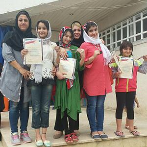 خمام - افتخار آفرینی شناگران خمامی در مسابقات شنای بانوان استان گیلان