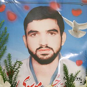 خمام - بیست و ششمین مراسم سالگرد شهادت «سیدحسن موسوی» برگزار شد