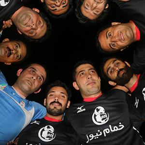 خمام - پیروزی ۱۰ بر ۵ تیم فوتبال خمامنیوز در مقابل تیم آموزشگاه سینمایی هفت