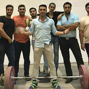 خمام - مقام سوم تیم وزنه برداری خمام در رقابتهای وزنه برداری نوجوانان ۱۳ تا ۱۵ سال گیلان