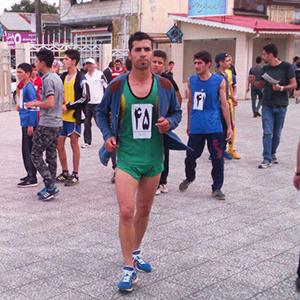 خمام - مسابقهی دو صحرانوردی در خمام برگزار شد