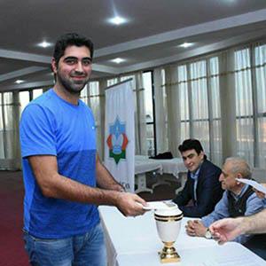 خمام - رویارویی امیررضا پوررمضانعلی با حریفان بینالمللی در مسابقات شطرنج باکو