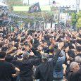 تجمع بزرگ عاشورائیان خمام برگزار شد