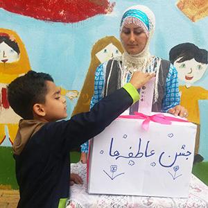 خمام - جشن عاطفهها در مجتمع سردار جنگل و خاتم (ص) برگزار شد