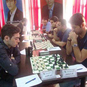 خمام - پیروزی تیم بتونساز خوش اندوخته خمام در مقابل تیم شطرنج منطقه آزاد انزلی
