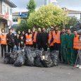 جمع آوری زبالههای روز عاشورا از سطح شهر خمام