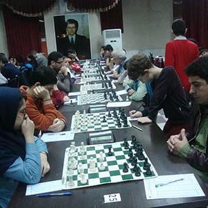 خمام - حضور شطرنجبازان خمامی در چهارمین دوره از مسابقات شطرنج بینالمللی جام صلح و دوستی