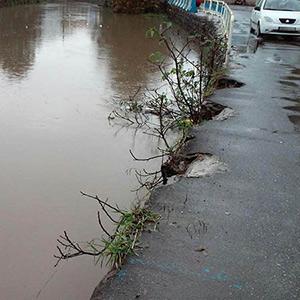 خمام - ایمنسازی حریم رودخانه تا چه زمانی به تعویق میافتد ؟!