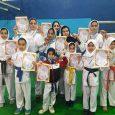نائب قهرمانی تیم بانوان خمام در مسابقات چهارجانبه کاراتهی کوچصفهان