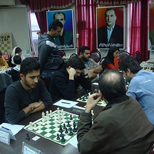 خمام - شکست تیم شطرنج شهرداری خمام در مقابل تیم آرین شاندرمن