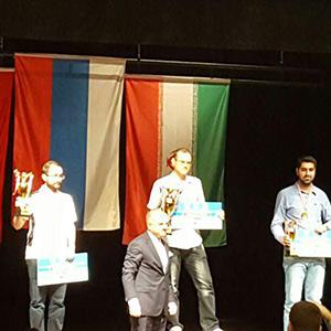 خمام - اهتزاز پرچم ایران در مسابقات بینالمللی شطرنج ترکیه
