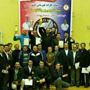 خمام - کسب مقام سوم و مدالهای رنگارنگ تیمهای کاراته خمام در مسابقات قهرمانی کشور