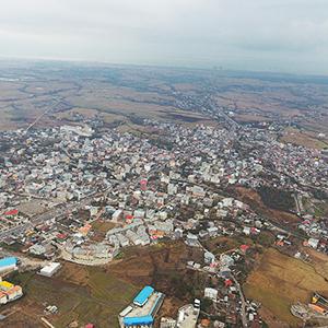 خمام - تصویربرداری هوایی از شهر خمام