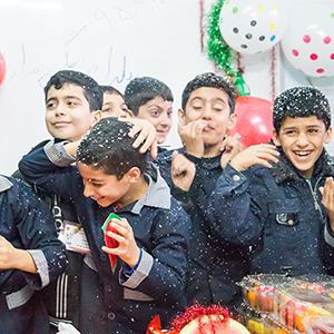 خمام - برگزاری مراسم «شب یلدا» در مدارس خمام