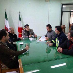 خمام - جلسه ستاد بحران در شهرداری خمام تشکیل شد