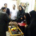 دیدار شهردار و اعضای شورای شهر با خانوادههای معظم شهدا